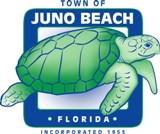 Juno Beach town Logo Neighbor community to commercial lawn care of Juno Beach